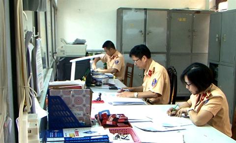 CSGT Điện Biện: Cải cách hành chính để phục vụ nhân dân tốt hơn