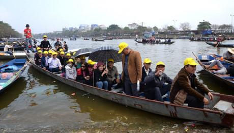 Tăng cường kiểm tra an toàn giao thông đường thủy mùa lễ hội chùa Hương 2017