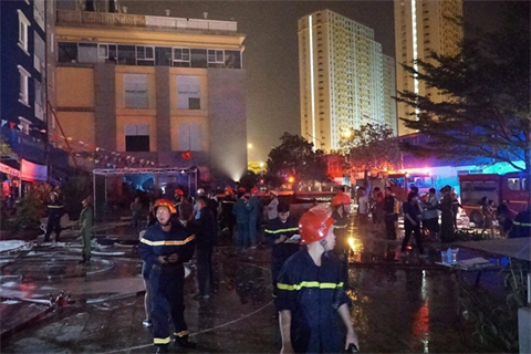 Cháy chung cư tại TP Hồ Chí Minh: 13 người chết, 28 người bị thương