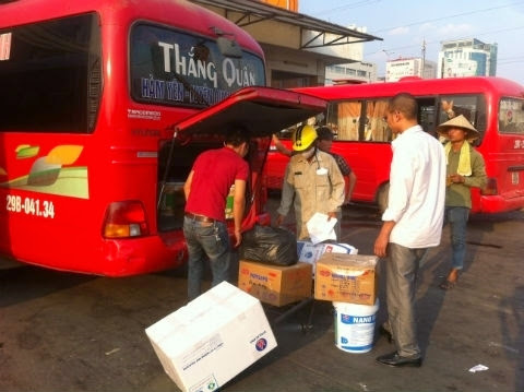 Dịch vụ vận chuyển hàng hóa qua xe khách- Lỗ hổng trong công tác quản lý