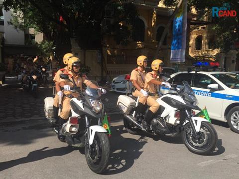 Hà Nội ra quân cao điểm xử lý vi phạm trật tự an toàn giao thông