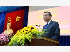 Bộ trưởng Tô Lâm dự và chỉ đạo Hội nghị tổng kết Ban Chỉ đạo Tây Nguyên năm 2016