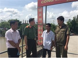 Chuyện về người gác cổng rào an ninh trật tự ở xã Đông Thắng