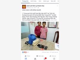 Khánh Hòa: Tuyên truyền phòng chống tội phạm qua mạng xã hội Facebook