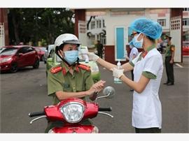 Công an tỉnh Đăk Lăk tiếp tục chung tay phòng, chống đại dịch Covid-19