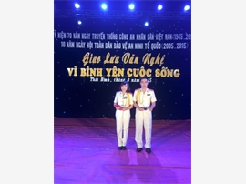 Chàng MC đa tài của Công an tỉnh Thái Bình