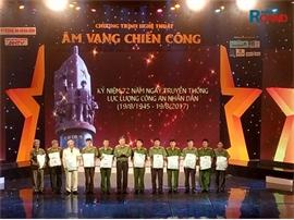 Âm vang chiến công': Khúc hát ngợi ca người chiến sĩ Công an nhân dân