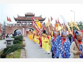 Đảm bảo an ninh trật tự tại lễ hội đền Trần ở Thái Bình