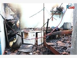 Cháy nhà tập thể, thiệt hại hàng trăm triệu đồng