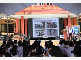 Hưng Yên: Tuyên truyền kiến thức và kỹ năng lái xe an toàn cho học sinh THPT