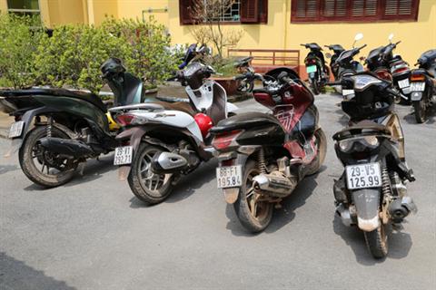 Bí ẩn đường đi của 560 chiếc xe mô tô